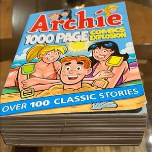 Archie comic book. 1000 pages of fun!